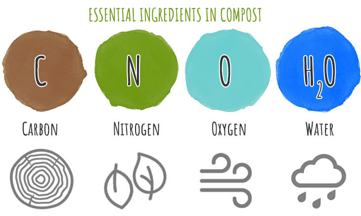 essential compost ingredients